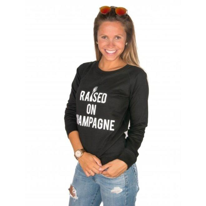 BIG BILLIONAIRE - Raised on champagne - sweater