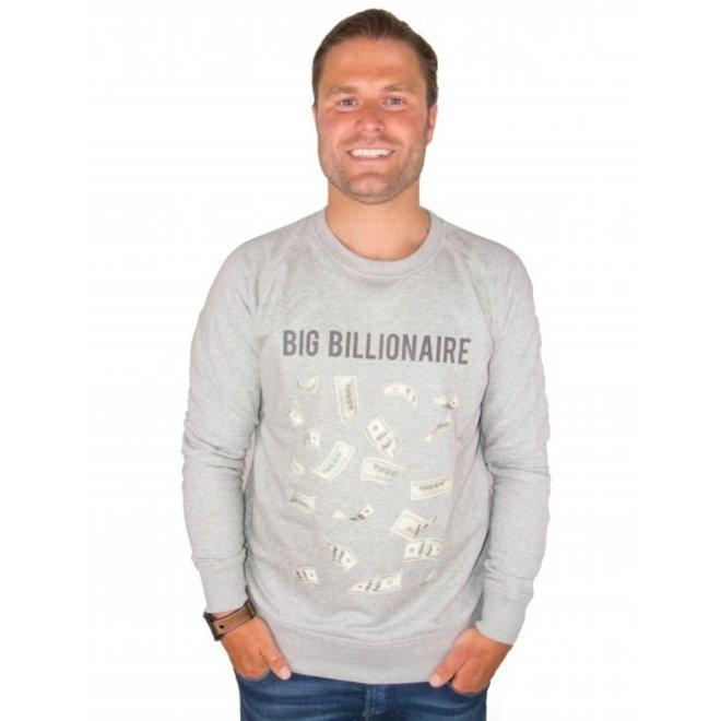 BIG BILLIONAIRE - geld - trui