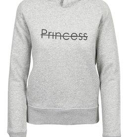 CDKN_Women CDKN_Women - hoodie sweatshirt - heather grey - Princess sparkle