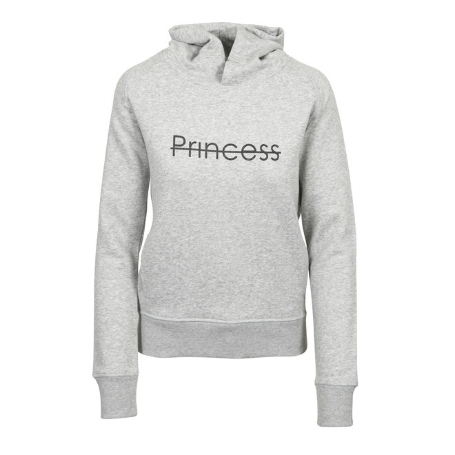 CDKN_Women - hoodie sweatshirt - heather grey - Princess sparkle