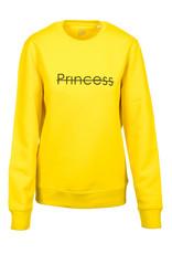 CDKN_Women CDKN_women - crew neck sweatshirt Princess - golden yellow