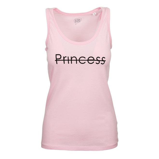 CDKN_women - tank top - roze - princess sparkle