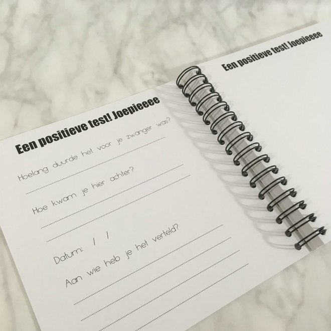 STUDIJOKE - baby on the way - fill-in book