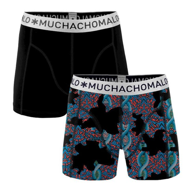 MUCHACHOMALO - Boys 2-pack shorts - dna1010-01J