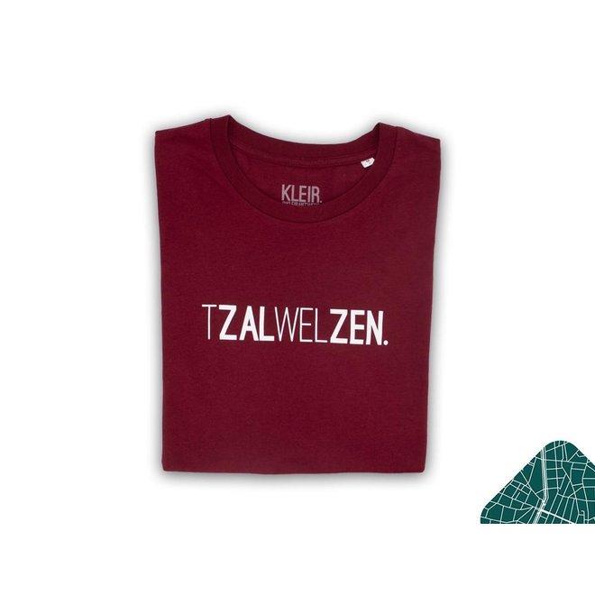 Tzalwelzen. - burgundy t shirt