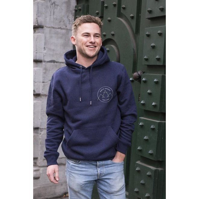JOH CLOTHING - great minds, ride a bike - hoodie
