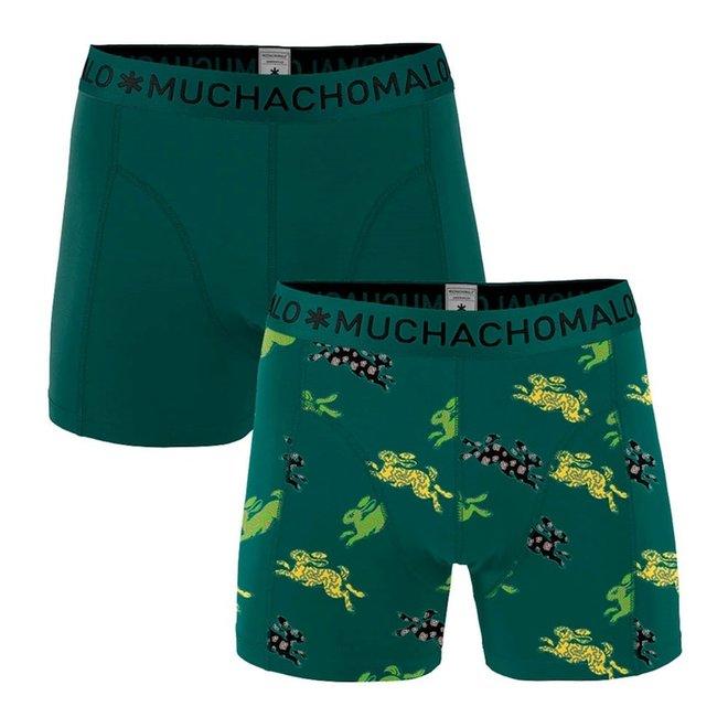 MUCHACHOMALO -  Men 2-pack shorts - Rabbit