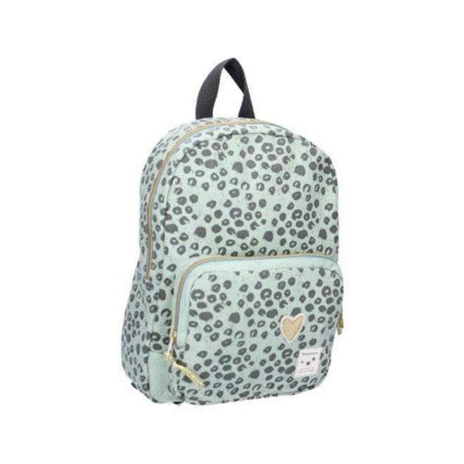 VISJES EN CO - kidzroom backpack - leopard mint M