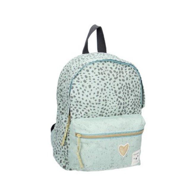 VISJES EN CO - backpack kidzroom - leopard mint S