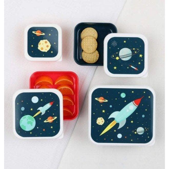 lunch en snackboxset - space