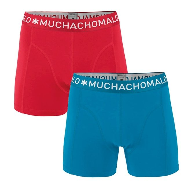MUCHACHOMALO - Boys 2-pack short - Solid