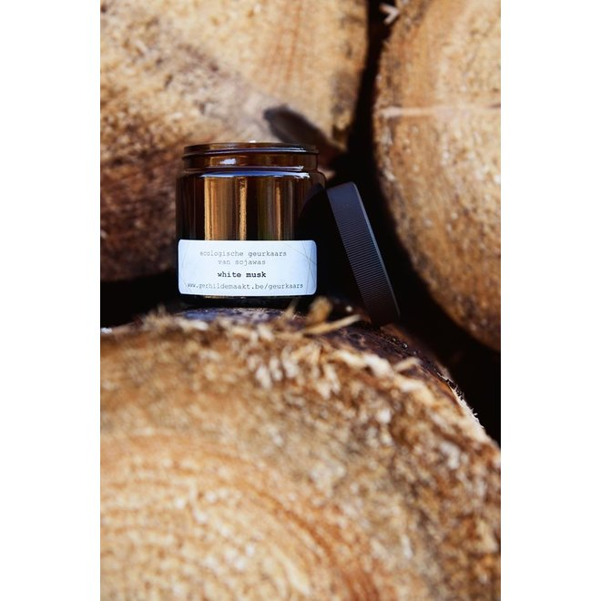 GERHILDE MAAKT - scented candle - white musk