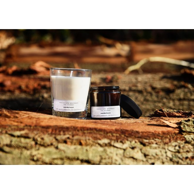 gerhilde maakt - kaars groot koolzaadwas - citroen & eucalyptus