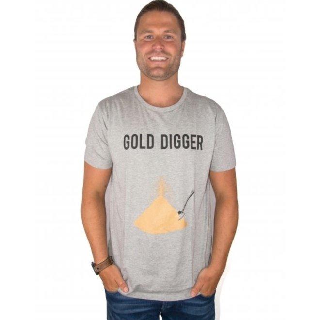 BIG BILLIONAIRE - golddigger - t shirt - mannen