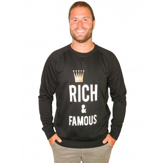 BIG BILLIONAIRE - Rich & famous - sweater