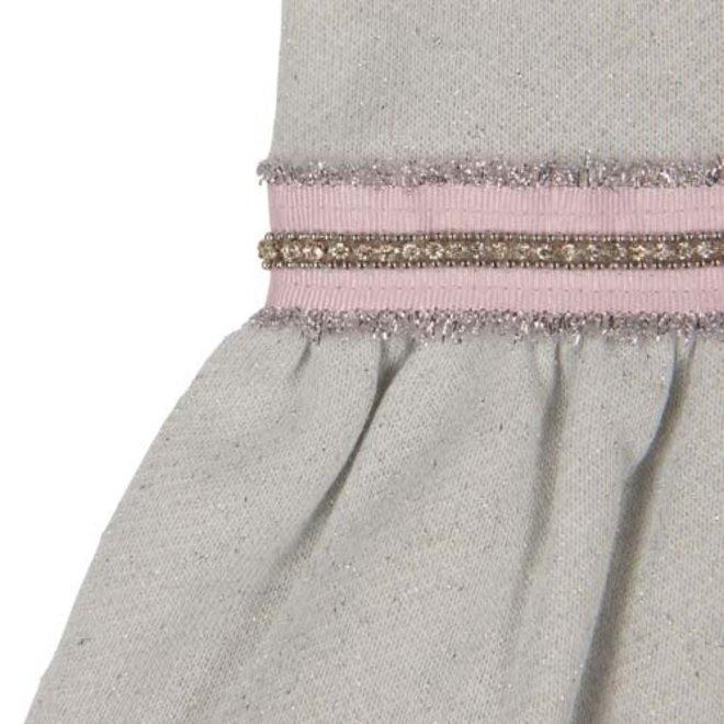 NATINI- kleedje - grijs glitter