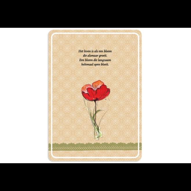 leven als een bloem - 120