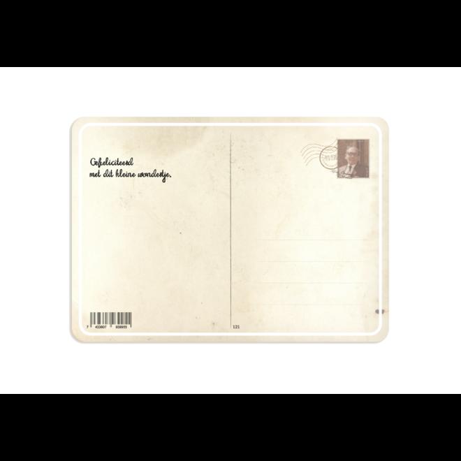 PETIT PETOU - kaart - klein wondertje