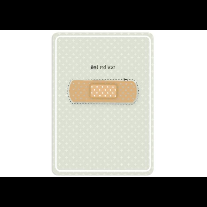 PETIT PETOU - card - get well soon - 113