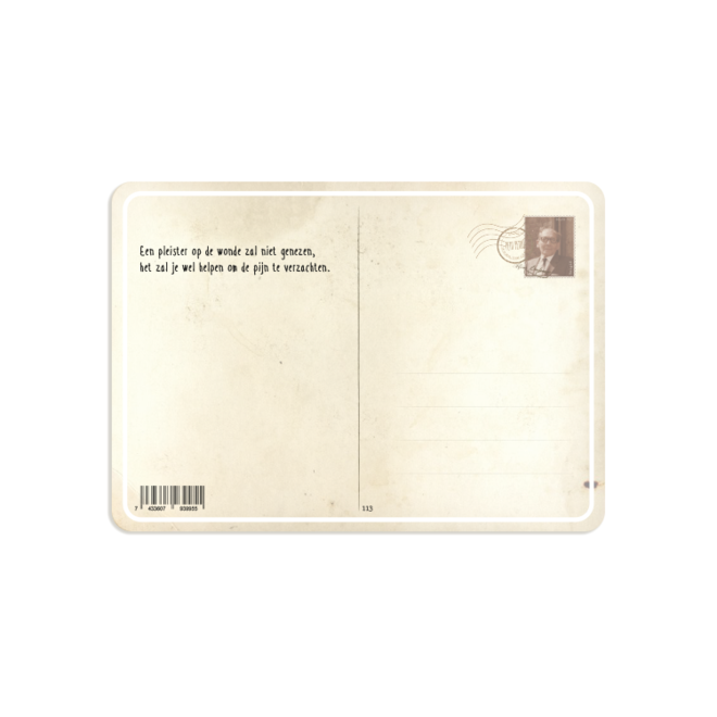 PETIT PETOU - card - get well soon