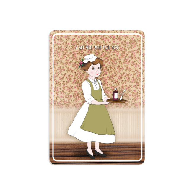 PETIT PETOU - kaart - a get well wish for you