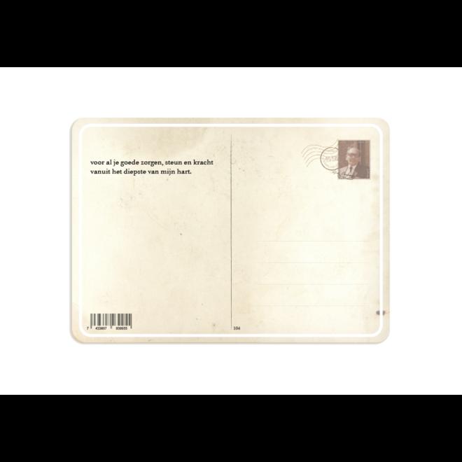 PETIT PETOU - kaart - ik wil je graag bedanken