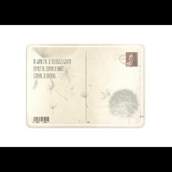 PETIT PETOU - kaart - gefeliciteerd