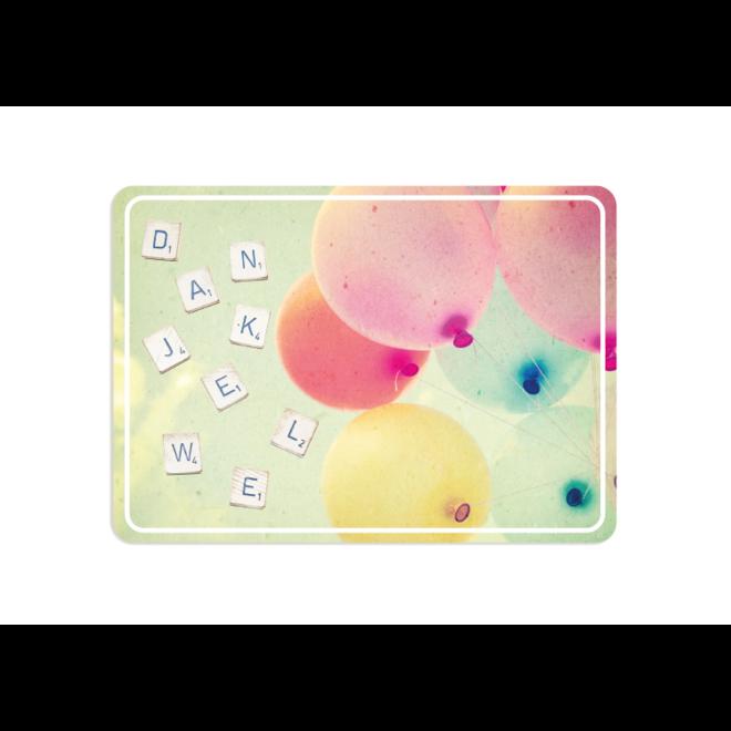 PETIT PETOU - card - thank you