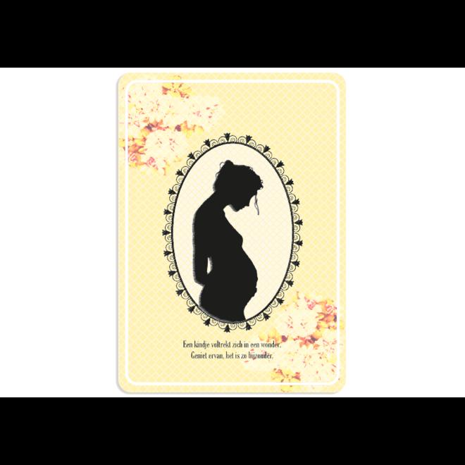 PETIT PETOU - card - congratulations on your pregnancy