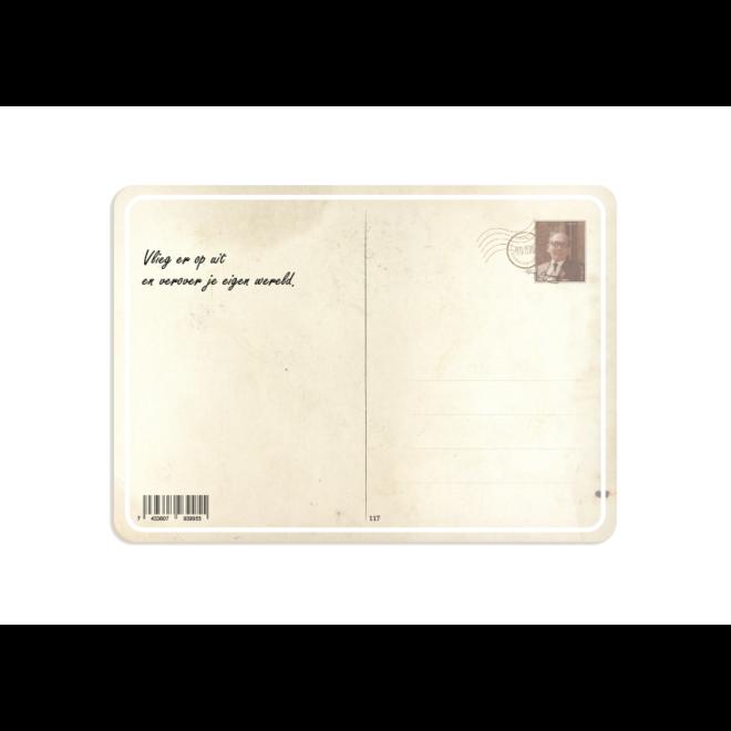 PETIT PETOU - kaart - gefeliciteerd met deze dag