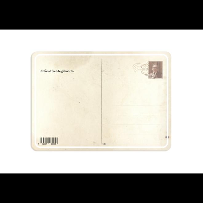 PETIT PETOU - card - congratulations on the birth - 123