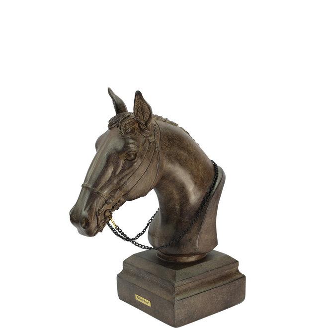 Maxpetwood - beeld - paardenhoofd (S)