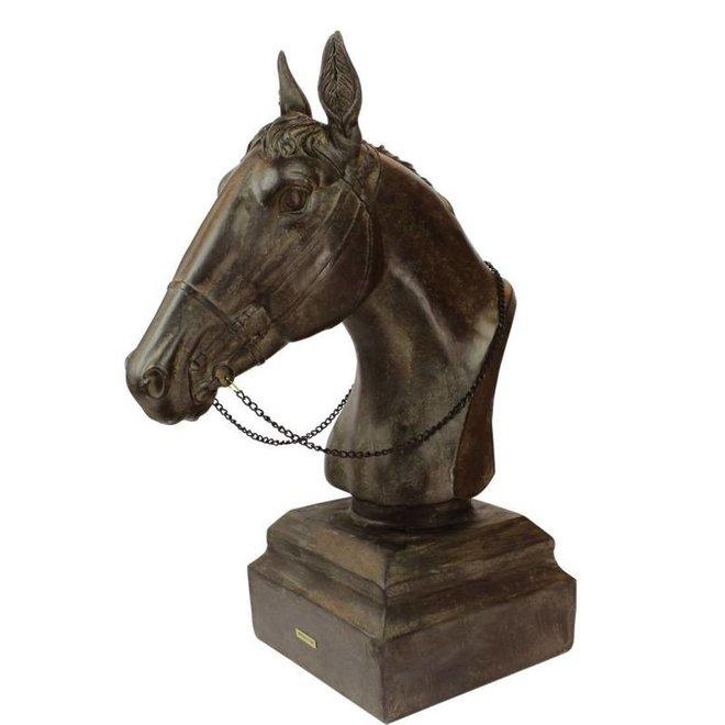 beeld - paardenhoofd (L)