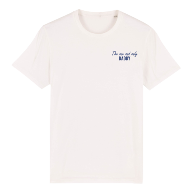 JOH CLOTHING - the one and only daddy - t-shirt - off white