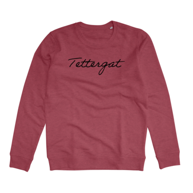 JOH CLOTHING - tettergat - sweater - cranberry
