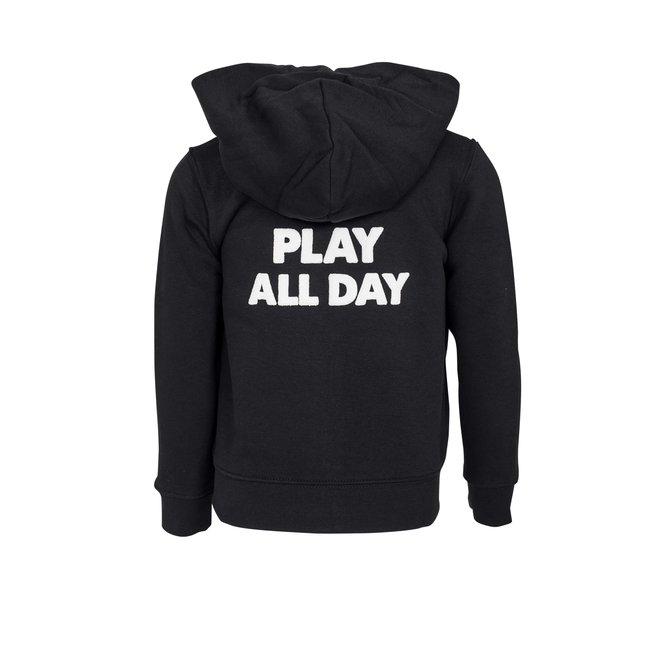 CDKN_kids - play all day - vest - zwart