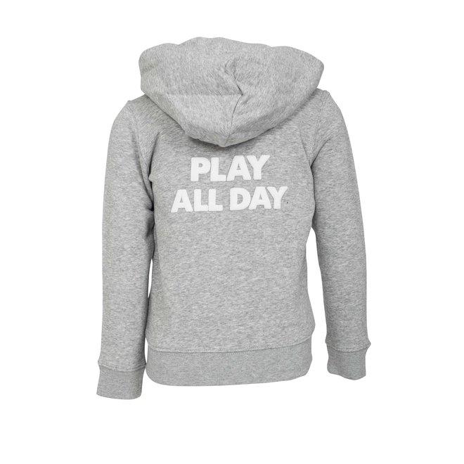 CDKN_kids - play all day - vest - grijs