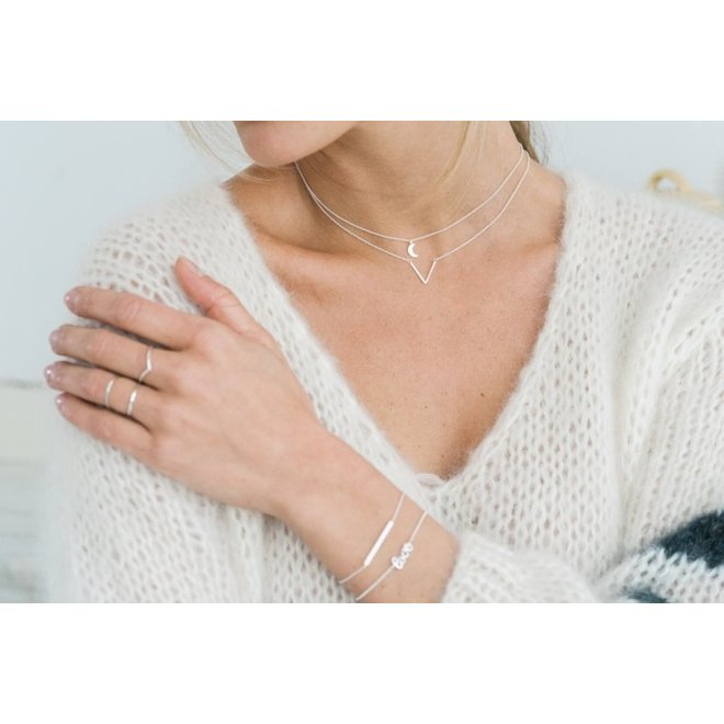 SETAREH - necklace - moon