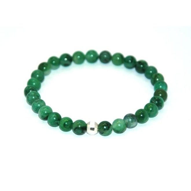 CASCADE - armband - african jade stone