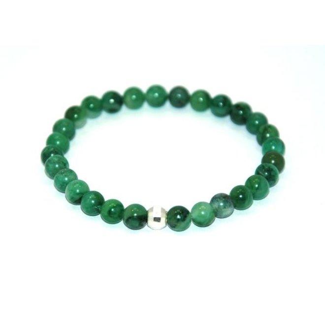 CASCADE - bracelet - african jade stone