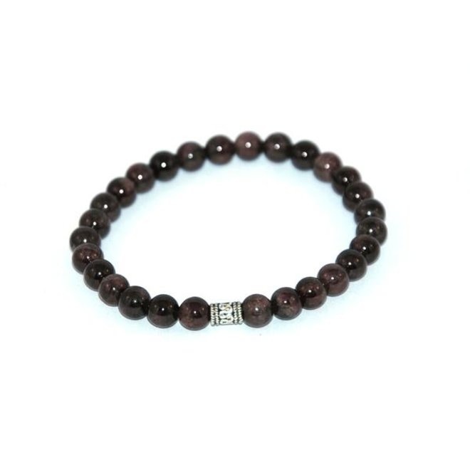 CASCADE - bracelet - garnet