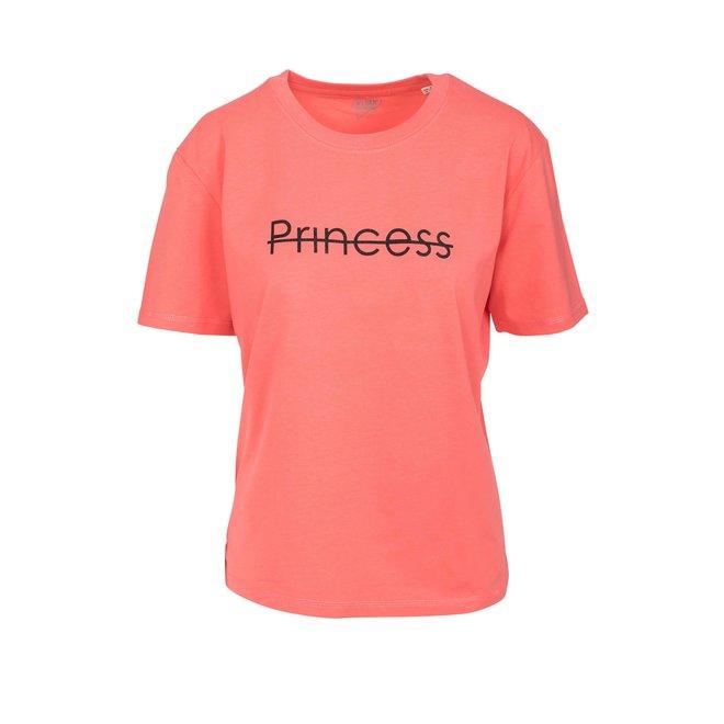 Princess - dikke koraal t shirt