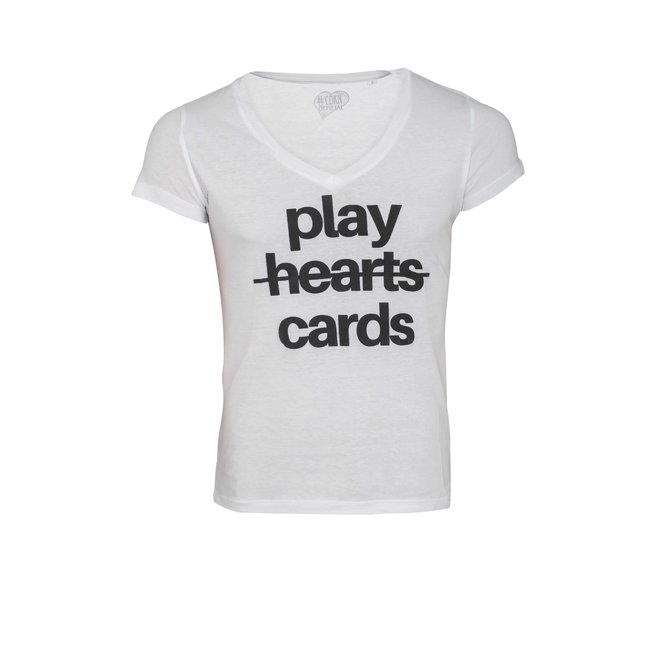 CDKN_Women - play cards - t-shirt wit