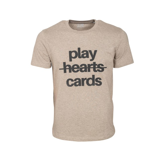 CDKN_official - play cards round neck t shirt