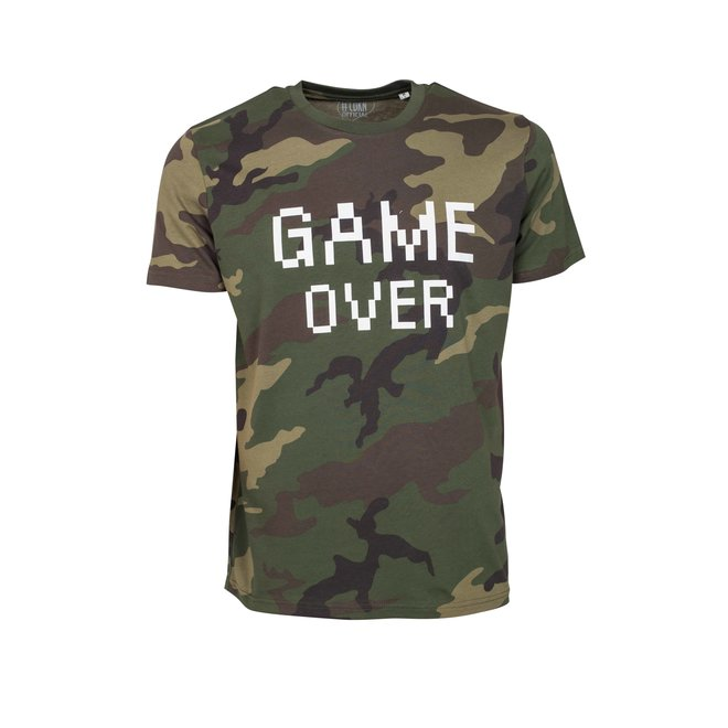 CDKN_official - game over - army t shirt