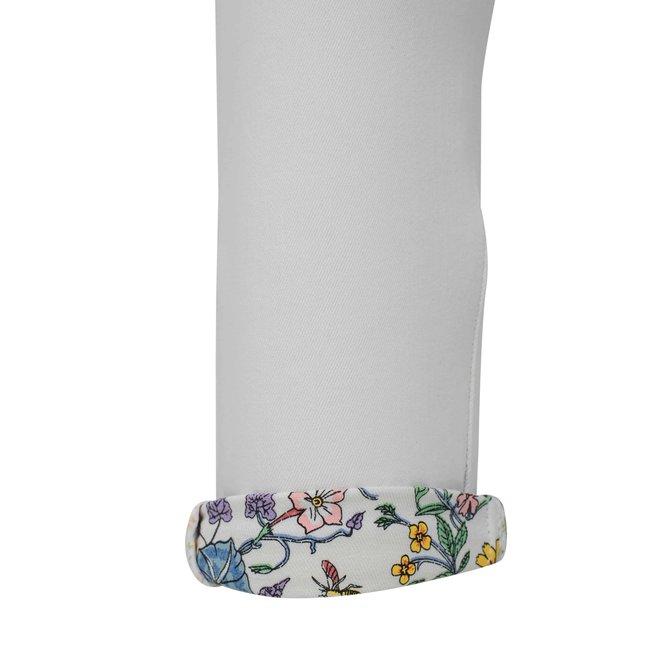 CDKN_women - jeans met bloemenboord