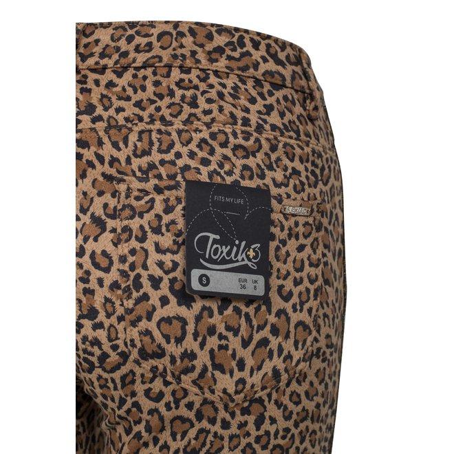CDKN_Women - panter jeans met gouden streep zijkant Tokix3 H2416