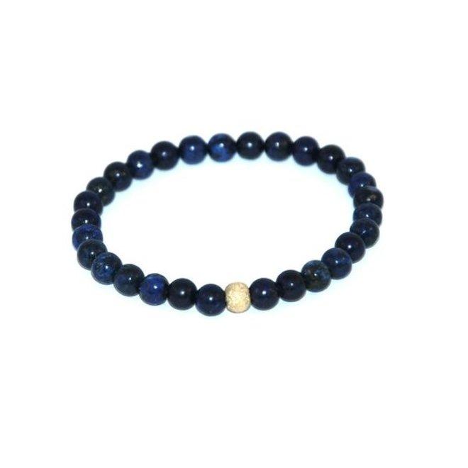 CASCADE - bracelet - lapis lazuli