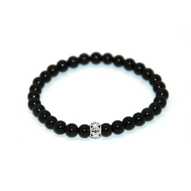 CASCADE - bracelet - obsidian