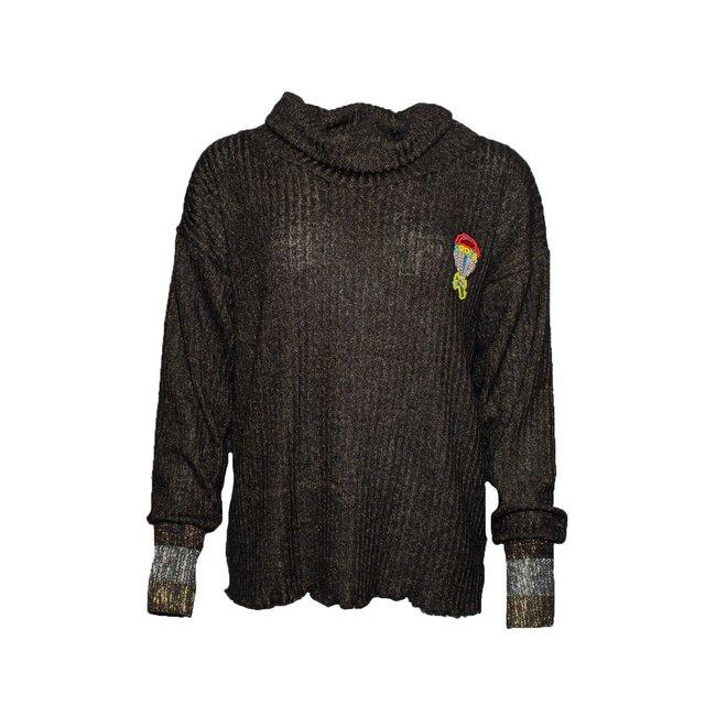 TUTU CHIC - sweater - cayenne